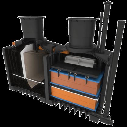 non electric sewage treatment plant