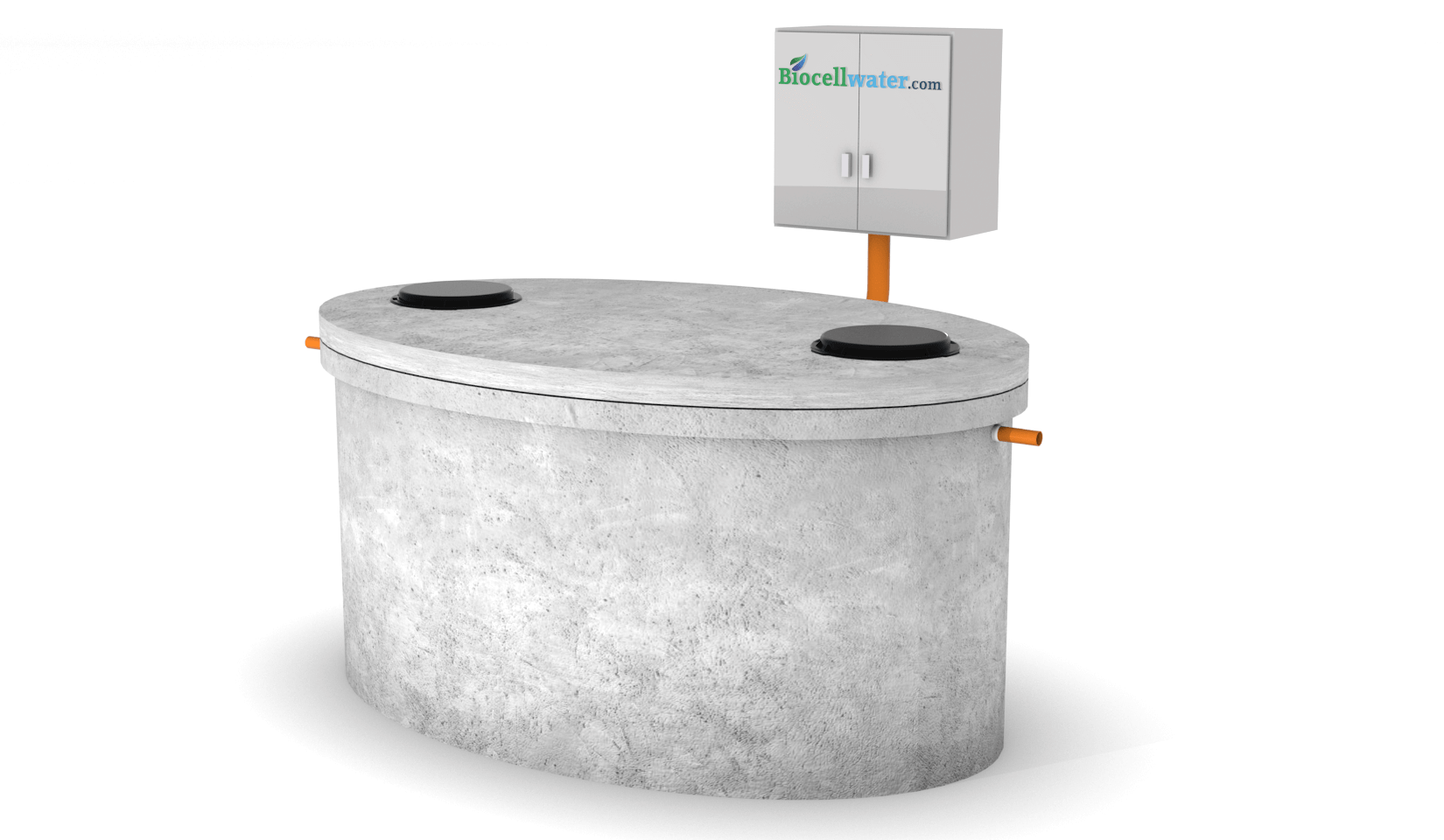 commercial concrete wastewater treatment plant