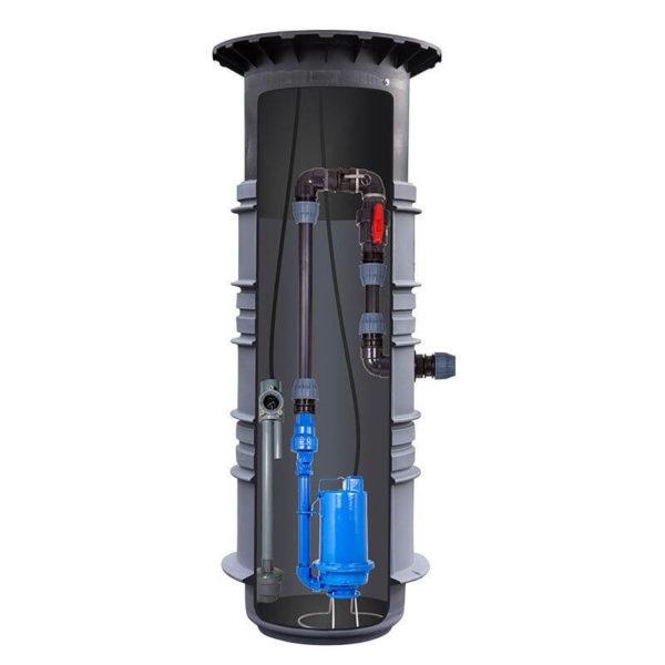 domestic sewage effluent pump station