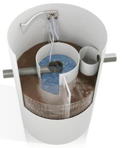 Biocell bioclean low cost domestic sewage treatment